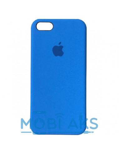 Чехол Apple Silicone case для iPhone 5 / 5S / SE Blue (синий)