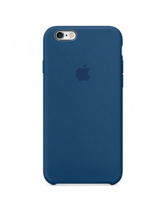 Чехол Apple Silicone case (силикон кейс) для iPhone 5 / 5S / SE Blue Cobalt