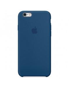 Чехол Apple Silicone case (силикон кейс) для iPhone 5 / 5S / SE Blue Cobalt