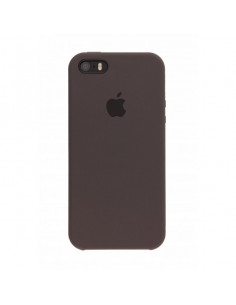 Чехол Apple Silicone case для iPhone 5|5S|SE Brown
