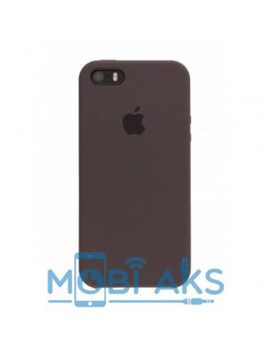 Чехол Apple Silicone case для iPhone 5 / 5S / SE Brown