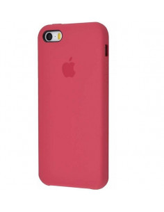 Чехол Apple Silicone case (силикон кейс) iPhone 5 / 5S / SE Camelia