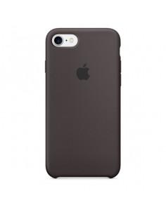 Чехол Silicone case (силикон кейс) для iPhone 5|5S|SE Cocoa