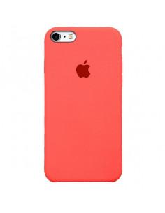 Чехол Silicone case (силикон кейс) iPhone 5 / 5S / SE Coral