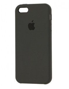 Чехол Apple Silicone case для iPhone 5 / 5S / SE Dark Olive