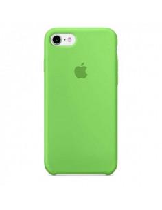 Чехол Silicone case для iPhone 5|5S|SE Green
