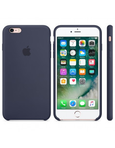 Чехол Silicone case для iPhone 5|5S|SE Midnight Blue