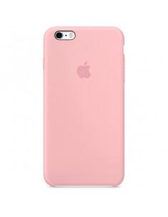 Чехол Silicone case для iPhone 5|5S|SE Pink