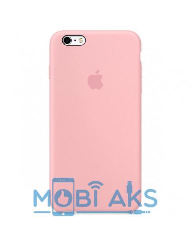 Чехол Silicone case для iPhone 5 / 5S / SE Pink