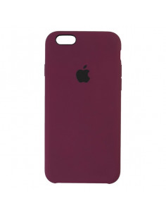 Чехол Apple Silicone case iPhone 6S Plus Marsala