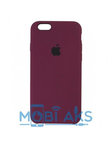 Чехол Apple Silicone case iPhone 6S Plus Marsala
