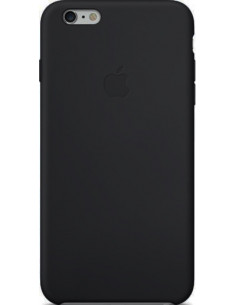 Чехол Silicone case для iPhone 6S plus Black