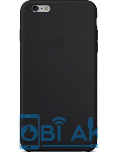 Чехол Silicone case для iPhone 6S plus Black