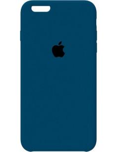 Чехол Silicone case для iPhone 6S Plus Blue Cobalt