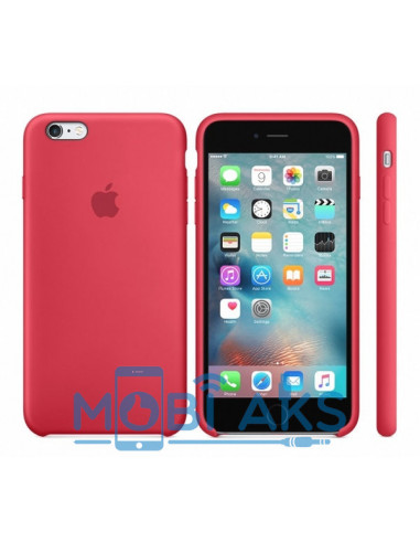 Чехол Silicone case для iPhone 6S Plus Camelia