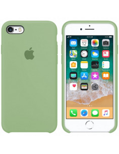 Чехол (силикон кейс) Silicone case iPhone 6S Plus Mint Gam