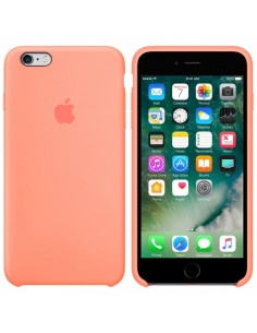 Чехол (силикон кейс) Silicone case iPhone 6S Plus Peach