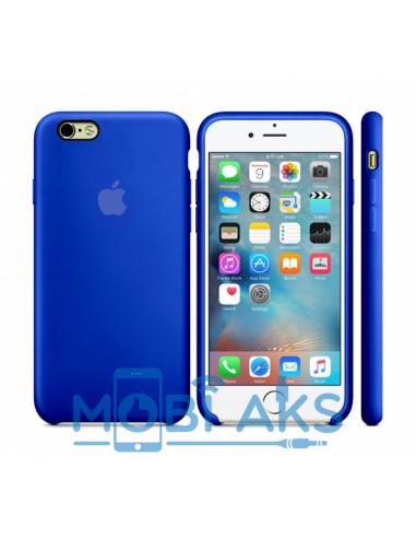 Чехол (силикон кейс) Silicone case iPhone 6S Plus Ultra Blue