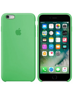 Чехол Silicone case (силикон кейс) iPhone 6S Plus Spearmint