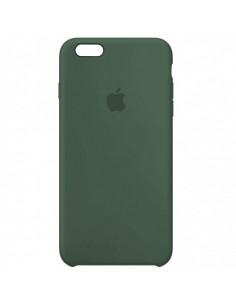 Чехол Silicone case (силикон кейс) iPhone 6S Plus Pine Green