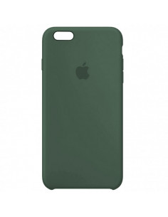 Чехол Silicone case (силикон кейс) iPhone 6S Plus Pine Green