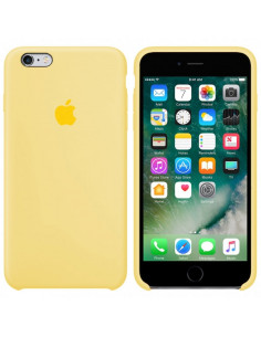 Чехол Silicone case iPhone 6S Plus Mellow Yellow