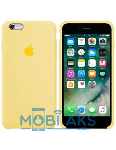 Чехол Silicone case iPhone 6S Plus Mellow Yellow