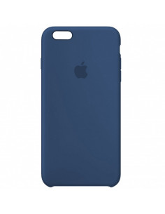 Чехол Silicone case (силикон кейс) iPhone 6S Plus Alaskan Blue