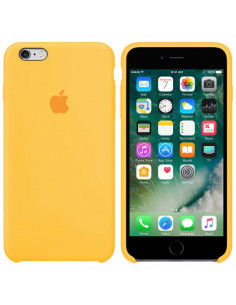 Чехол Silicone case (силикон кейс) iPhone 6S Plus Canary Yellow