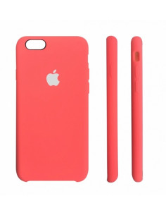 Чехол Silicone case (силикон кейс) iPhone 6S Plus Coral