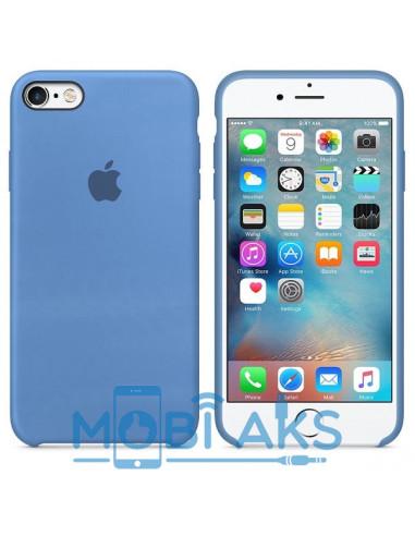 Чехол Silicone case (силикон кейс) iPhone 6S Plus Corn Flower