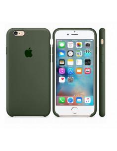 Чехол Silicone case для iPhone 6S Plus Dark Olive