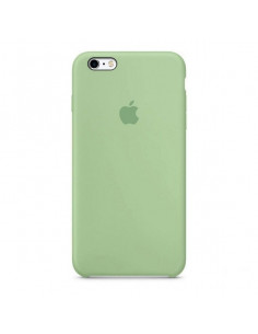 Чехол Silicone case (силикон кейс) для iPhone 6S Plus Green