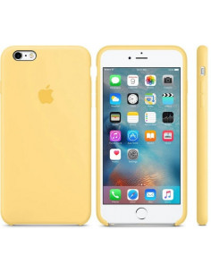 Чехол Silicone case (силикон кейс) iPhone 6S Plus Yellow