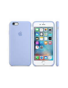 Чехол Silicone case (силикон кейс) iPhone 6S Plus Liac Cream
