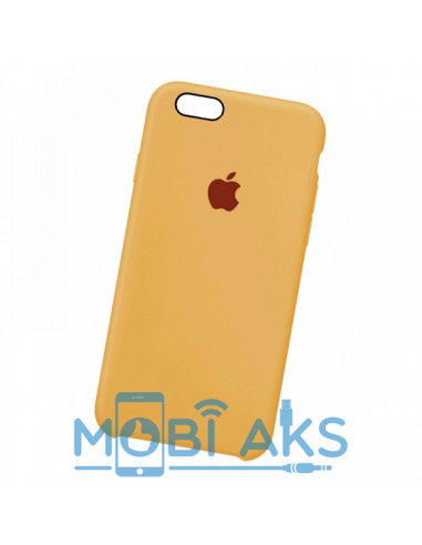 Чехол Silicone case для iPhone 5 / 5S / SE Gold
