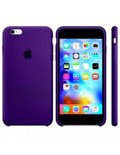 Чехол Silicone case для iPhone 5|5S|SE Ultra Violet