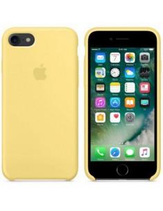 Чехол Silicone case для iPhone 5|5S|SE New Yellow