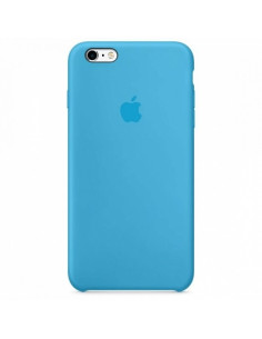 Чехол Silicone case для iPhone 5|5S|SE Blue New