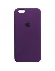 Чехол Silicone case для iPhone 5|5S|SE Purple