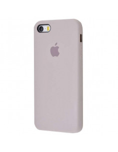 Чехол Silicone case для iPhone 5|5S|SE Lavander Gray