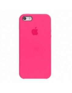 Чехол Silicone case для iPhone 5|5S|SE Hot Pink
