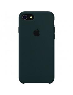 Чехол Silicone case для iPhone 5|5S|SE Forest Greeen