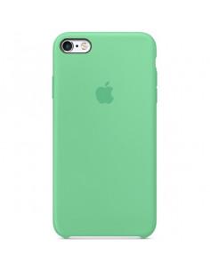 Чехол Silicone case для iPhone 5|5S|SE Spearmint