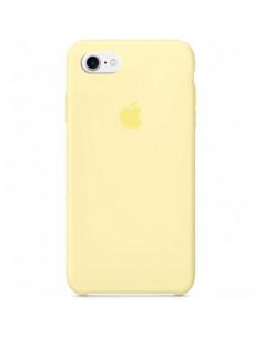 Чехол Silicone case для iPhone 5|5S|SE Mellow Yellow