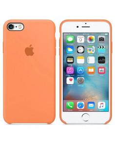 Чехол Silicone case для iPhone 5|5S|SE Papaya