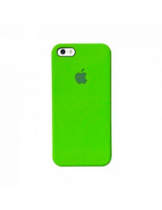 Чехол Silicone case для iPhone 5|5S|SE Lime Green