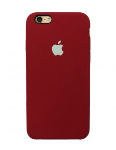Чехол Silicone case для iPhone 5 / 5S / SE Camellia White