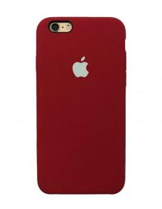 Чехол Silicone case для iPhone 5|5S|SE Camellia White