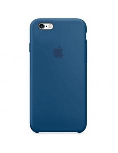 Чехол Silicone case для iPhone 5|5S|SE Mist Blue